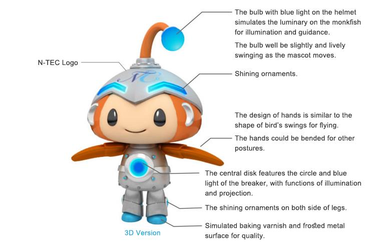 mascot cute light n tec corp